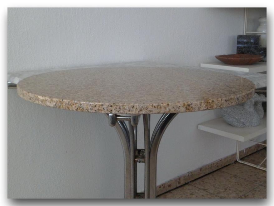 Tischplatte rund stein neuesten design for Tischplatte design